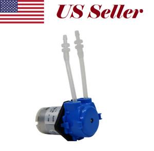 Dosing Pump Peristaltic Pump 12V DC Liquid Water pump Fish Tank Dosing Blue