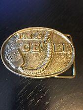 I'm A CB'ER Belt Buckle Solid Brass Taiwan Numbered Breaker Breaker