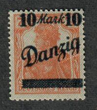 Danzig Mi#31iii M/NH/VF, C.v. $250