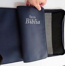 Forro doble para Biblia y accesorios. 26,7x41 cm 2 compartimentos 2 cremalleras.