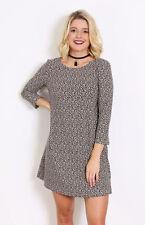 Winter Short Women's Shift Dresses