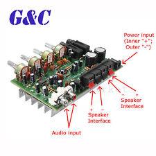 12V 60W Hi Fi Stereo Digital Audio Power Amplifier Volume Tone Control Board