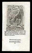 santino incisione 1600 SS.MARINO E GIACOMO MM. DI LAMBESA