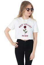 Red Velvet Crop T-shirt Top Shirt Tee Cropped Fashion ReVeluv Kpop Kawaii Irene