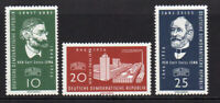 East Germany Set of 3 Stamps c1956 Unmounted Mint Never Hinged (7230)