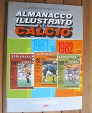 ALMANACCO ILLUSTRATO DEL CALCIO 1980-1982 (2005) PANINI La Gazzetta Dello Sport