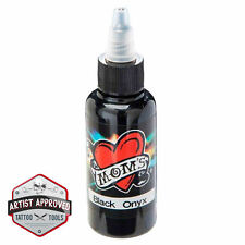 MOMs Millennium Tattoo Ink - Black Onyx - 1/2 oz