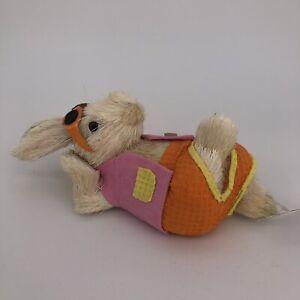 Happy Reclined Rabbit Decor Easter Dec