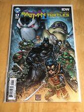 Batman Teenage Mutant Ninja Turtle II #1 First Issue DC