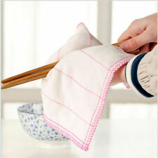10pcs Dish Cloth Rags Towel Bamboo Fiber Washcloth for Kitchen Clean