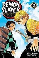 Demon Slayer Kimetsu no Yaiba Manga Volume 3