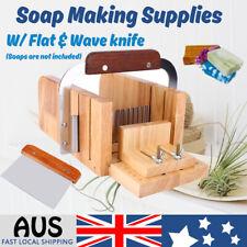 Oak Handmade Loaf Soap Cake Mould Making Tools Slicer Cutter Soap Knife Tool