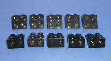 LEGO 10 x Winkel 90° 1x2 schwarz Winkelplatte   black angle plate 44728 6117973