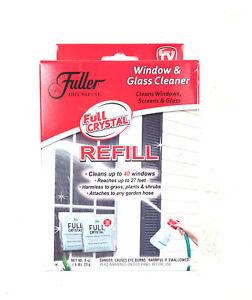 NEW Fuller Brush Full Crystal Glass and Window Cleaner Refill (2-Pack)