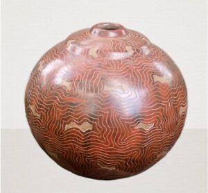 Nicaraguan Pottery vase Handcrafted ~ Pottery vase, Ceramic Vase ~ Flower vase