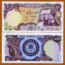 IRAN, 100 Rials, ND (1976)  P-108, Ch. UNC > Commemorative