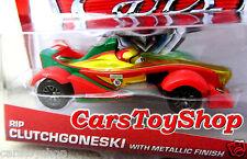Disney Pixar Cars 2 RIP CLUTCHGONESKI with Metallic Gold Finish Diecast 1:55 toy