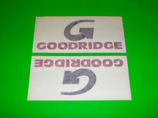 GOODRIDGE MOTORSPORTS FLUID TRANSFER SYSTEMS HOSE FITTINGS DECALS STICKERS