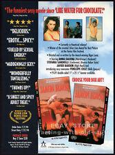 JAMON JAMON__Orig. 1994 Trade Print AD movie promo__PENELOPE CRUZ__JAVIER BARDEM