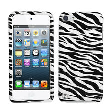 For Apple iPod Touch 5 5th gen HARD Protector Case Snap On Cover Zebra