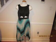 2b bebe dress cut out high low medium new                            #47