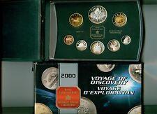 2000 CANADA Double Dollar Proof Set  W/  MILLENIUM  COMMEMORATIVE  SILVER DOLLAR