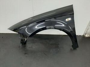 2007 SEAT LEON 5 Door Hatchback Black N/S Passenger Left Front Wing 1P0821021A