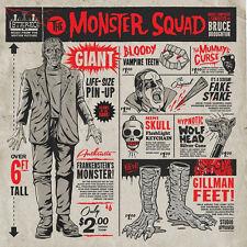 Bruce Broughton - The Monster Squad Soundtrack Vinyl LP Amulet Green MONDO