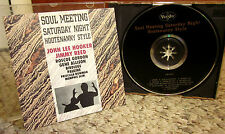 SOUL HOOTENANNY John Lee Hooker CD Jimmy Reed blues Memphis Slim & Roscoe Gordon