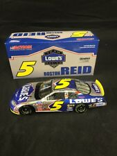 ACTION 1-24 NASCAR #5 LOWE'S CLUB CAR 1 OF 924 BOSTON REID AUTOGRAPHED