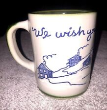Louisville Stoneware We Wish You A Merry Christmas Mug