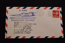 SPACE COVER 1975 MACHINE CANCEL 29TH X-24B FLT 2ND LIFT BODY RUNWAY LAND (4066)
