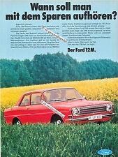 Ford-12M-1967-Reklame-Werbung-genuine Advertising - nl-Versandhandel