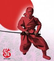 """1:6 Scale Red ninja Clothes set Model For 12"""" Male Action Figure Doll Toys"""