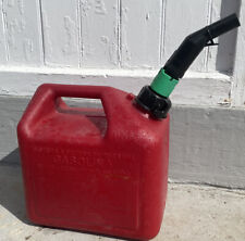 Tsg 2 Gallon Spill Proof Poly Gas Can Model T205 Spout