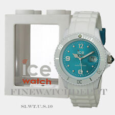 Authentic Unisex Ice Sli White Turquoise Watch SI.WT.U.S.10