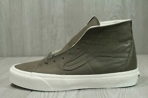63 New Mens Vans Sk8 Hi Top Tapered Soft Green  Leather Size 11