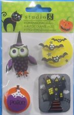 Studio G Halloween Owl Dimensional Stickers