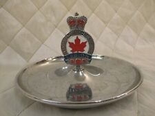 Canadian Legion Memoriam Eorum Candy Dish Ashtray Trinket Jewelry Holder Vintage