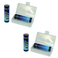 4x 18650 jet batería 3100mah 3,7v 40a 8c (= más Power) limn batteriebox gratis