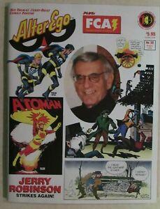 ALTER EGO MAGAZINE -  ISSUE # 39 - THE ULTIMATE COMICS FANZINE