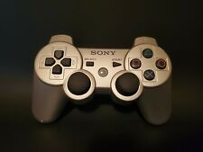 Official Sony PlayStation PS3 DualShock 3 Silver Wireless Controller CECHZC2U