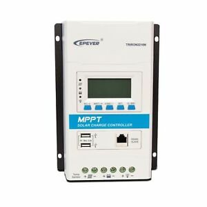 EPEVER MPPT Solar Charge Controller 20A Triron Series 2210N Lithium Regulator