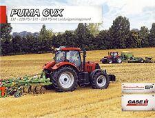 CASE Puma CVX  07 / 2013 catalogue brochure Traktor tracteur tractor