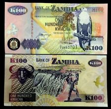 Zambia 100 Kwacha Banknote World Paper Money UNC Currency Bill Note