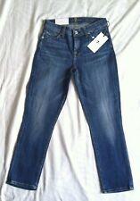 New 7 For All Mankind The Capri Super Skinny women's jeans Sz 25x23 MSRP $189