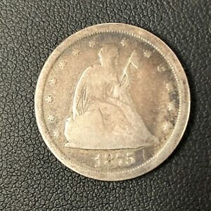 1875 20 Cent Piece VG or Better