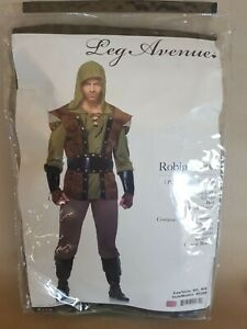 Robin Hood 5 Piece Adult Costume Size M/L by Leg Avenue New