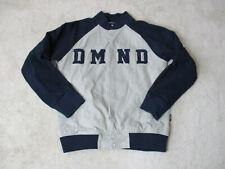 Diamond Supply Company Jacket Adult Small Gray Black Varsity Streetwear Mens