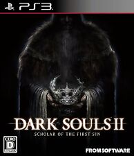 PS3 DARK SOULS II SCHOLAR OF THE FIRST SIN Limited Benefits Soundtrack
